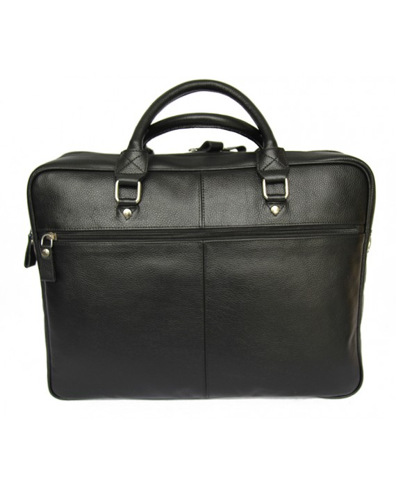Boss leather briefcase