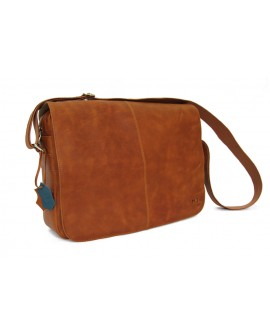 vintage - Leather messenger bag