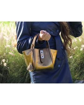 Fifi- sac à main cuir véritable -  sac à bandoulière cuir véritable femme