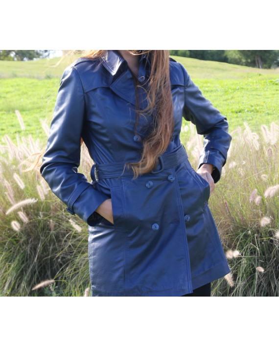 Nina - Jacket cuir femme