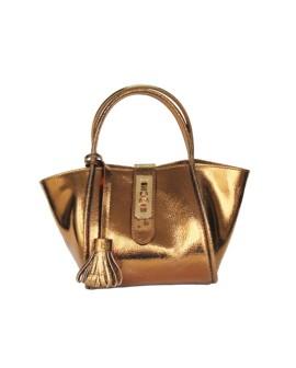 Fifi- leather handbag - leather  women shoulder strap bag