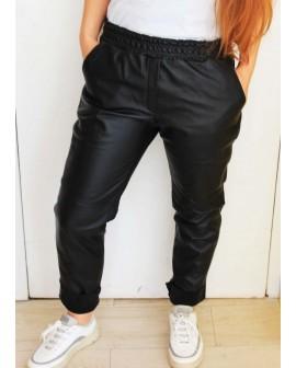 Mia - Leather genuine pant
