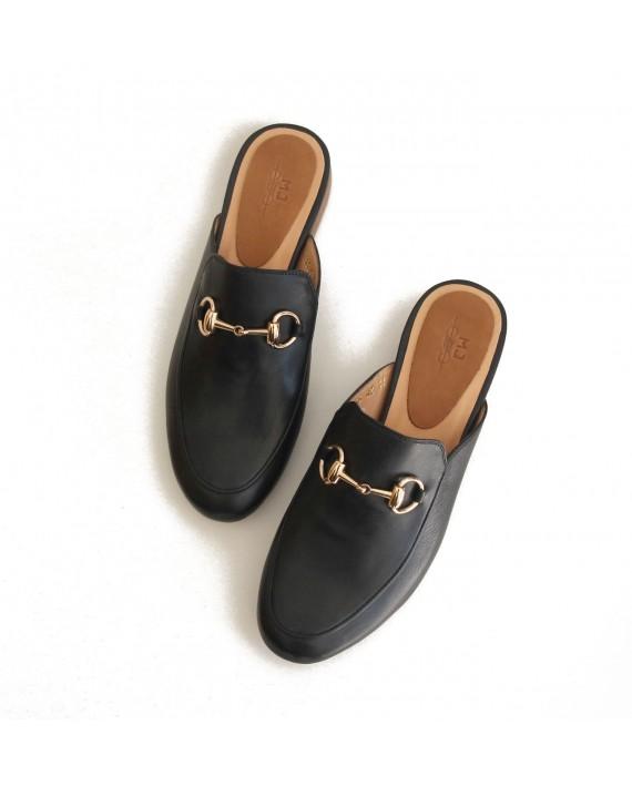 Elisa - Leather mule
