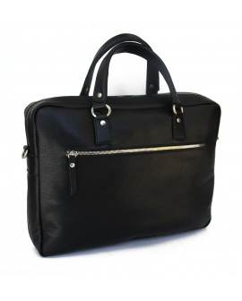 Maroquinerie-Leather genuine briefcase