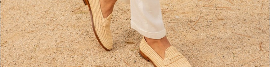 Raffia-Shoes
